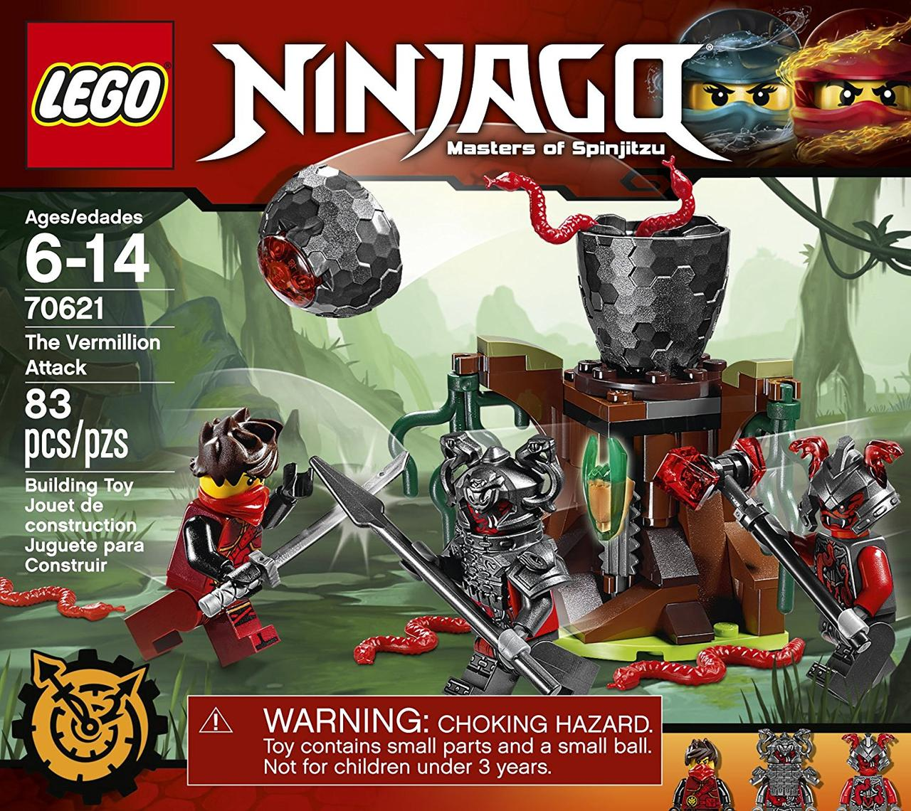Конструктор LEGO Ninjago Атака Алой армии (70621)