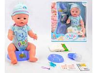 Кукла пупс Baby born, 8 функций, 9 аксессуаров, BL013D HN