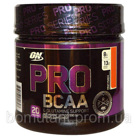 PRO BCAA 390 гр fruit punch Optimum Nutrition