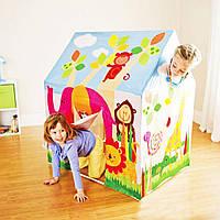 Детский игровой домик-палатка Intex  95х75х107 см (45642)