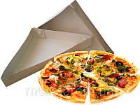 Треугольная коробка под кусок пиццы