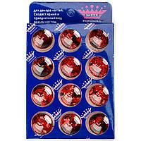 Набор Конфетти (Камифубуки) 12 в 1 Master Professional (MP-309) Красные