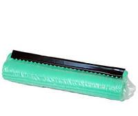 Губка PVA 'Feniks' зеленая, мягкая,  для швабры с отжимом 27 см