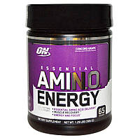 Amino Energy 585 гр concord grape Optimum Nutrition