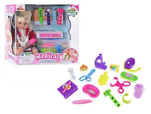 Кукла 1303 B набор доктора в чемодане, фото 3