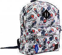 Рюкзак Bagland Молодежный (дизайн) 17 л. сублимация (кеды) (00533664)