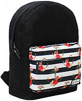 Рюкзак Bagland Молодежный W/R 17 л. чорний 73 (00533662)