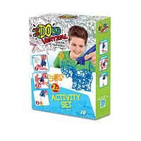 Набор для детского творчества с 3D-маркером - ЗООПАРК 155249