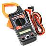 Тестер-клещи dt266, мультиметр цифровой, универсальный, купить токовые клещи, + чехол-сумочка и щупы