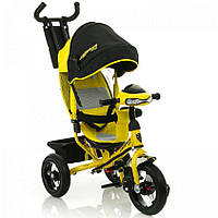 Трехколесный велосипед Azimut Crosser T-1 Air Желтый