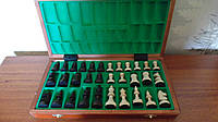 Шахматы деревянные резные размер 35*35