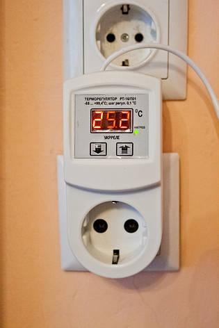 Терморегулятор terneo rz (розеточный), фото 2