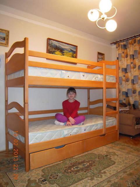 Ліжко двохярусне Вінні Пух 1