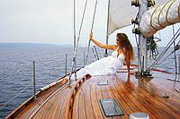 Парусная яхта «Электра» прогулка отдых VIP класса