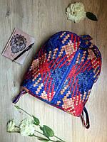 Стильный городской мини-рюкзак яркой расцветки