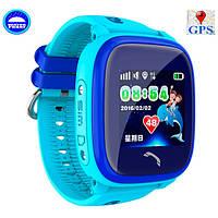 UWatch Детские часы Smart GPS DF200 Water Blue