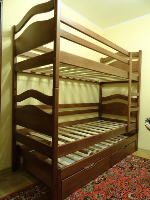 Ліжко тріо