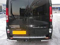 Защита заднего бампера (углы) Opel Vivaro / Renault Trafic / Nissan Primastar d 60