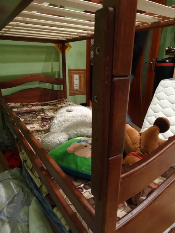 Збільшення висоти двоярусного ліжка