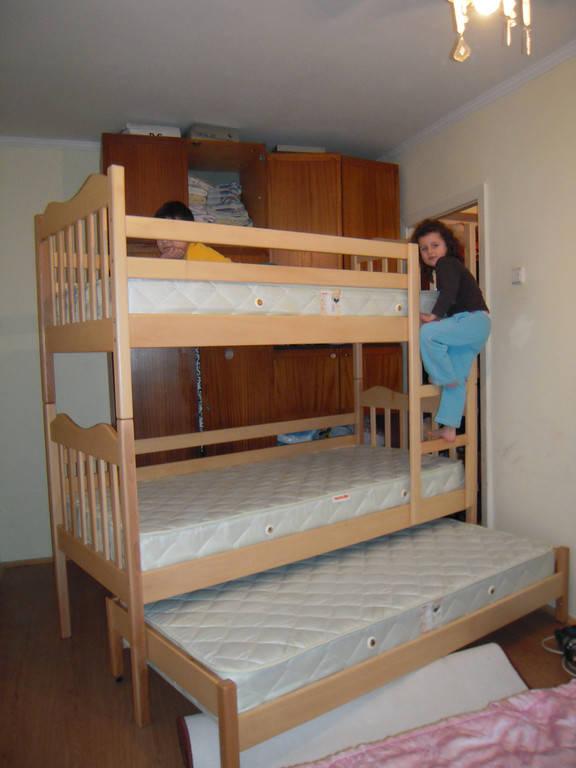 Ліжко двоярусне Тріо Мауглі