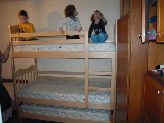 Ліжко двоярусне Тріо Мауглі 2