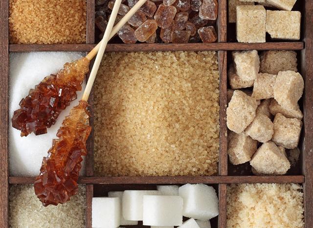 разные типы сахара