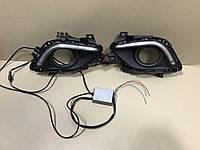 LED ходовые огни для Mazda 6 2013-2015 до рестайлинга (С блоком розжига)