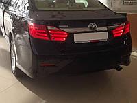 Задние фонари Toyota Camry 50 2011-2014 светодиодные BMW Style Red