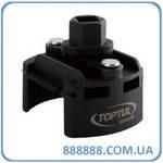 """Съёмник м/фильтра универс. 60-80 мм 1/2"""" под ключ 21 мм JDCA0108 Toptul"""