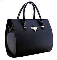 Каркасная сумка Prada , чёрная
