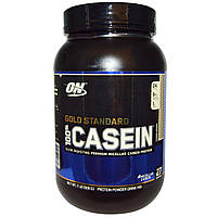100% Gold Standard Casein 909 гр cookies & cream Optimum Nutrition
