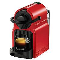 Капсульная кофеварка эспрессо Krups Nespresso Inissia XN 1005 red