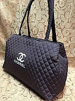 Сумка женская Chanel (Шанель), коричневая
