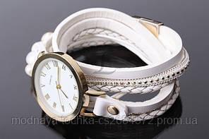 Браслет-часы белые 1-123128-1