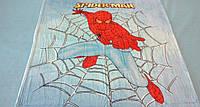 Микрофибровая простынь, покрывало Elway детское (127х152см) Человек-паук