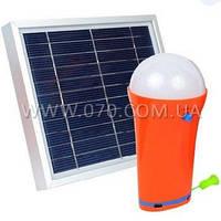 2 в 1 - Солнечная панель + Кемпинговый фонарь (Solar - 3W, 1xLED - 3W, 4400mAh)