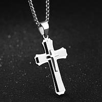 Крест мужской объемный, фото 1