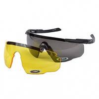 Очки тактические Wiley X SABER ADV, черная/желтая линза