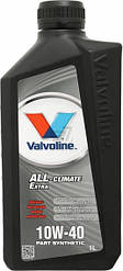 Моторное масло Valvoline VAI ALL CLIMATE EXTRA 10W40 1л
