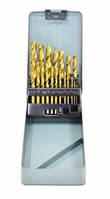 Набор сверл по металлу Spitce 1-10 мм 19 шт