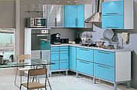 Кухня под заказ хай-тек МДФ пластик 036