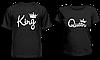 """Парные футболки """"King - Queen #2"""""""