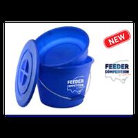 Bait Bucket&Bowl, 25 liter (Фидерное ведро для замешивания прикормки с крышкой)