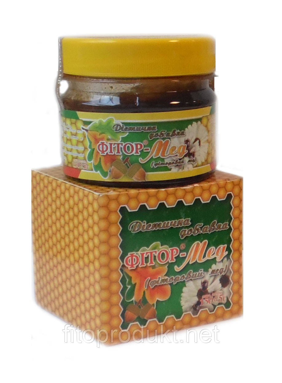 Фиторовый мед натуральная добавка против воспалительных процессов 150 г Фитория