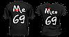 "Парные футболки ""Mr 69 - Mrs 69"""