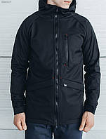 Мужская парка Staff Soft Shell black BR0017