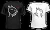 """Парные футболки """"Влюбленные человечки"""""""