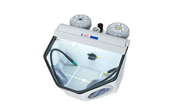 Basic classic 25-70 µ/70-250 µ  пескоструйный аппарат на два бачка