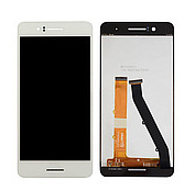Дисплей (экран) для HTC 728G Desire Dual Sim + с сенсором (тачскрином) белый