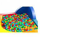 Шарики для сухого бассейна 6 см